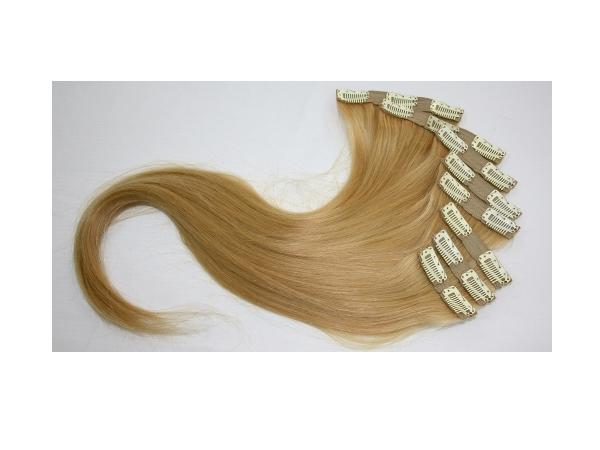 8 Parça Çıt Çıt Saç Koyu Sarı
